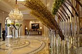 The lobby of Hotel Four Season George V. Paris. France