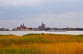 View at Stralsund, Baltic Sea, Mecklenburg-Vorpommern (Pomerania), Germany, Europe
