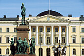 Government building at square Senatsplatz, Helsinki, Finland, Europe