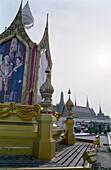Photo of the royal couple, Grand Palace, Bangkok, Thailand