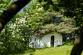 Chapel in St Oswald, St Oswald, Kastelruth, Castelrotto, Schlern, South Tyrol, Italy