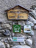 Rural hotel information. Barruera. Vall de Boí. Catalonia. Spain.