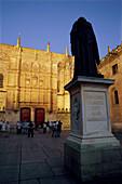 Façade. University of Salamanca. Salamanca. Spain