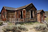 Abandoned Building, Bodie State Historic Park, California, USA