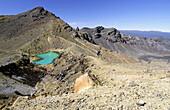 Emerald Lakes, Tongariro National Park, Taupo Region, North Island, New Zealand