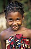 Girl in Sainte Marie, Madagascar