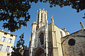 Cathedral St-Saveur. Aix-en-Provence. Provence. France.