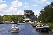 Niederfinow boat lift, Brandenburg, Germany