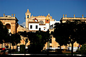 Placa d´es Born at town hall, Ciutadella, Minorca, Balearic Islands, Spain