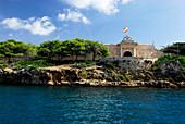 Es Castell, Illa del Llatzaret, Port de Mao, Port Mahon, Minorca, Balearic Islands, Spain