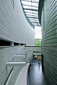 Modern architecture of KUMU art museum, Kadriorg, Tallinn, Estonia
