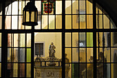 Courtyard, Old town hall, Regensburg, Upper Palatinate, Bavaria, Germany