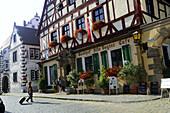 Gasthof, Wolframs-Eschenbach, Mittelfranken, Bayern, Deutschland