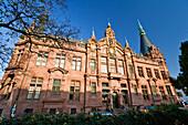 University Library Heidelberg, Baden-Wuerttemberg, Germany