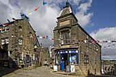 Haworth, Main street, Brontes town, West Yorkshire, UK