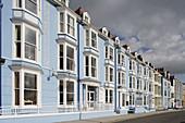 Aberystwyth, Marine Terrace, Victorian style buildings, Ceredigion, Wales, UK