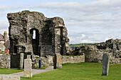 Aberystwyth, Castle ruins, 1277, by Edward Ist, Ceredigion, Wales, UK