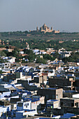 India, Rajasthan, Jodhpur, the blue city, Umiad Bhawan Palace, built over 15 year 1929-1944