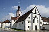 Stiski  Sticna Monastery, established in 1136, Cistercian Monastery, Abbey Church, Romanesque origin, Baroque style, Slovenia