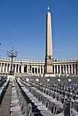 St  Peters square  The Vatican City, Rome, Lazio, Italy