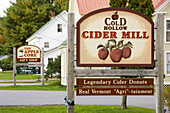 Cold Hollow Cider Mill in Stow, Vermont, USA