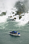 Maid of the Mist Boat at Niagara Falls Ontario Canada Tourist Attraction