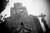 Aged, Art, Arts, Burgos, Castile-leon, Castilla-leon, Church, Color, Colour, Daytime, De, Ebro River, Esteban, Europe, Exterior, Facade, Facades, Historic, Historical, History, Locations, Old, Outdoor, Outdoors, Outside, Province, San, Spain, Travel, Trav