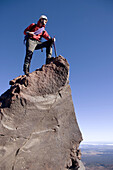 Mount Ruapehu. Mountaineering. New Zealand