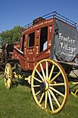 Wagon in Frontier Village, Jamestown, North Dakota, USA