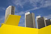 Lippincott 1' by James Rosati, Empire State Plaza, State Capitol, Albany, New York State, USA