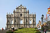 Ruin of Sao Paulo Church, Old city of Macau, China