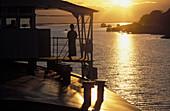 Asia, Ayeryawady, Boat, Burma, Color, Colour, Irrawaddy, Myanmar, River, Travel, Travels, World locations, World travel, V58-671507, agefotostock