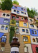 Austria, Vienna, Hundertwasser Haus