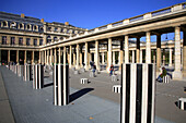 France, Paris, Palais Royal, Cour d'honneur