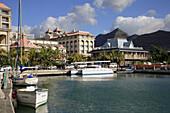 Mauritius, Port_Louis, Le Caudan Waterfront, harbour