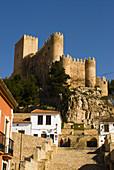 Castle of Almansa. Albacete province, Castilla-La Mancha, Spain