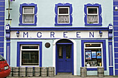 Ireland Clare Kinvara M Greenl Pub colorful colourful Irish Pub