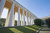 Roman civilization museum in the EUR district, Rome. Lazio, Italy