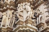 Hindu temples (X-XI c.), western group, UNESCO World Heritage site, Khajuraho, India