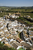 Setenil de las Bodegas. Pueblos Blancos (white towns), Cadiz province, Andalucia, Spain
