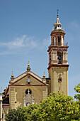 Parish church of Santa Ana, Algodonales. Pueblos Blancos (white towns), Cadiz province, Andalucia, Spain