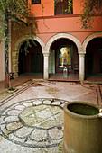 Casa de Sefarad museum in the Jewish quarter, Cordoba. Andalusia, Spain