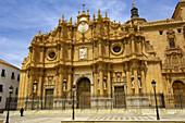 Cathedral façade, Guadix. Granada province, Andalucia, Spain