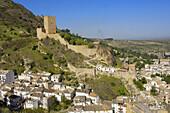 Yedra Castle in Cazorla Village  Sierra de Cazorla Segura y Las Villas Natural Park  Jaén province  Andalusia  Spain