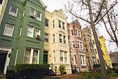 Street scene, Georgetown, Washington D C, U S A