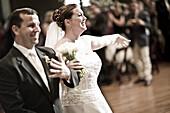 Adult, Adults, Bridal bouquet, Bridal bouquets, Bridal couple, Bride, Bridegroom, Bridegrooms, Brides, Caucasian, Caucasians, Celebrate, Celebrating, Celebration, Celebrations, Ceremonies, Ceremony, Color, Colour, Contemporary, couple, couples, Dress, Dre