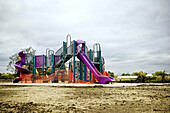 America, Amusement, childhood, Cloudy, Color, Colour, Contemporary, Daytime, exterior, Fun, infancy, Leisure, Mid-Atlantic USA, New York, Nobody, North America, Northeast USA, NY, outdoor, outdoors, outside, Overcast, Park, Parks, Playground, Playgrounds,