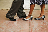 Activity, Adult, Adults, Anonymous, Ballroom dances, blurred, Color, Colour, Contemporary, couple, couples, Dance, Dancer, Dancers, Dancing, detail, details, Feet, female, Foot, Footgear, Footwear, Ground, Grounds, Heels, human, indoor, indoors, interior,