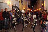 At, Baix, Dance, Death, Easter, Empordà, Gerona, Girona, L´Empordà, Of, Province, Spain, The, Verges, S51-749720, agefotostock