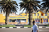 Colonial style Houses, Swakopmund, Namibia, Africa